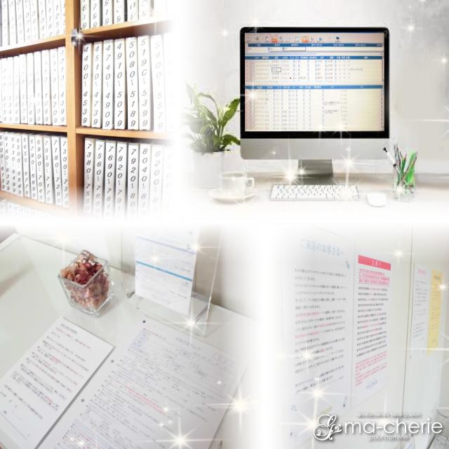 皆さんが安心して働けるように万全の顧客管理体制を取っています